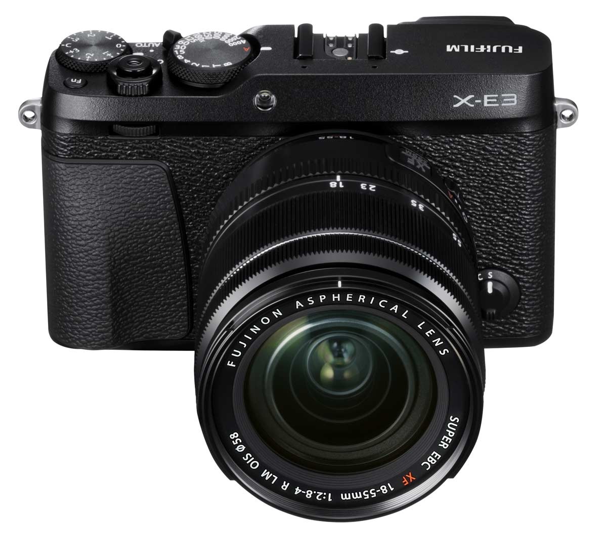 Fujifilm X-E3 v černé barvě