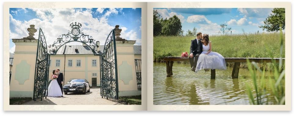 Svatební CEWE FOTOKNIHA ze soutěže CEWE FOTOKNIHA roku