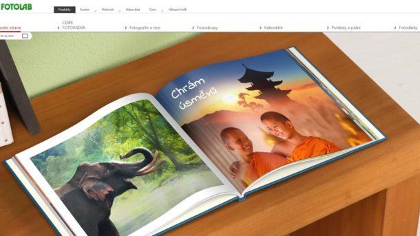 Program na sestavení CEWE fotoproduktů