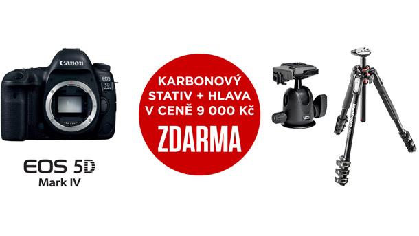 Canon EOS promo stativ Manfrotto zdarma
