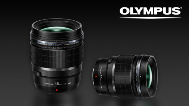 Nové světelné objektivy Olympus ZUIKO f/1.2