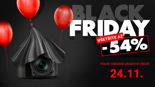 Black Friday 2017 akční ceny fototechniky