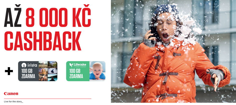 Canon EOS zimní cashback