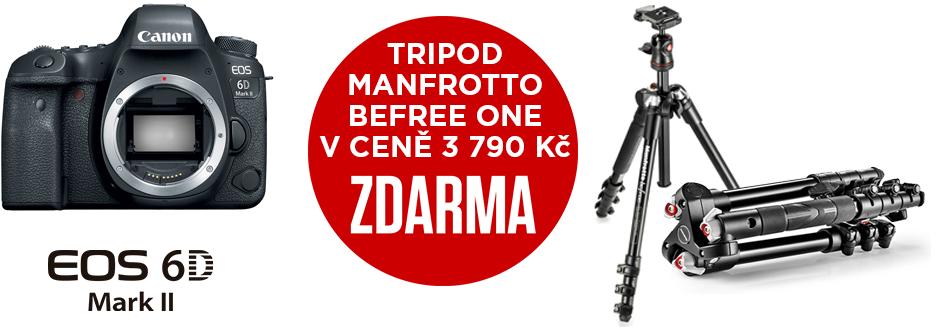 Canon EOS 6D Mark II + karbonový stativ Manfrotto zdarma