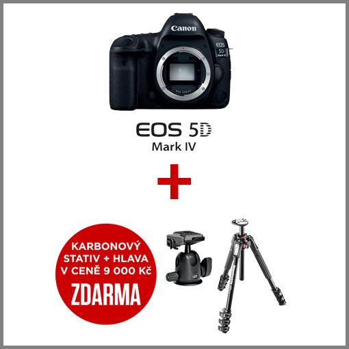 Canon EOS 5D mark IV akce