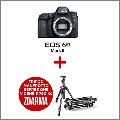Canon EOS 6D Mark II akce