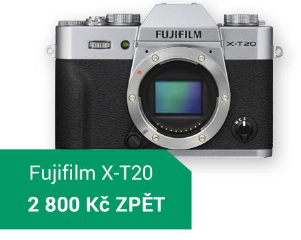 Fujifilm X-T20 sleva