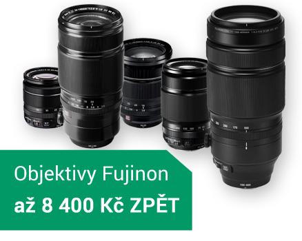 Fujifilm objektivy XF sleva