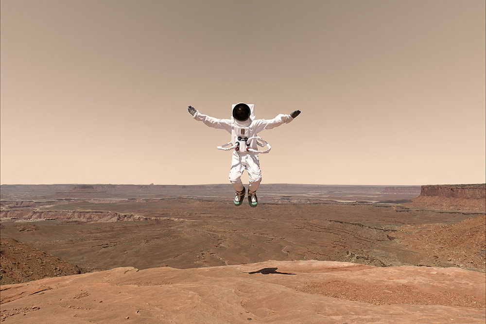 Sony Greetings from Mars
