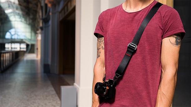 Kvalitní popruhy k fotoaparátům Peak Design