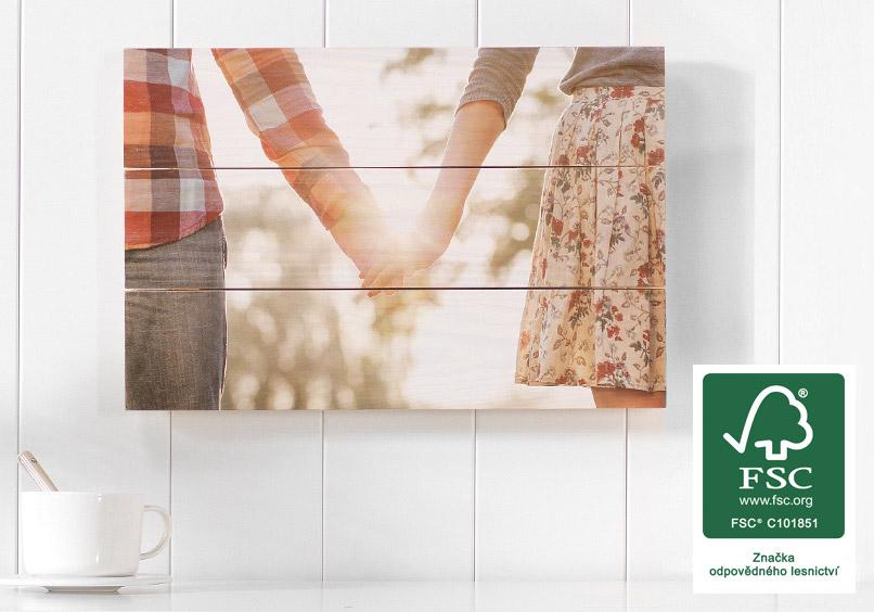 Foto na dřevo jako fotoobraz od FOTOLAB