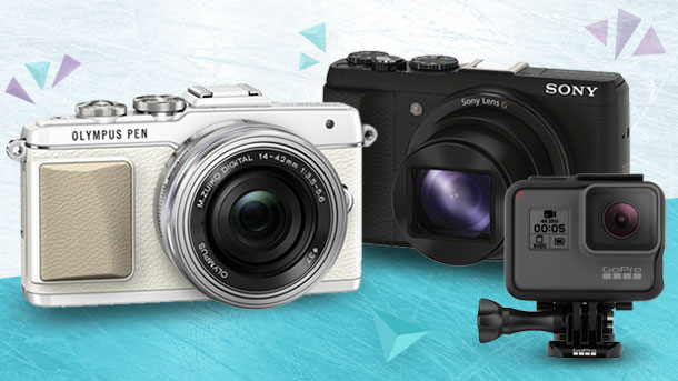 Akční fotoaparáty 2018