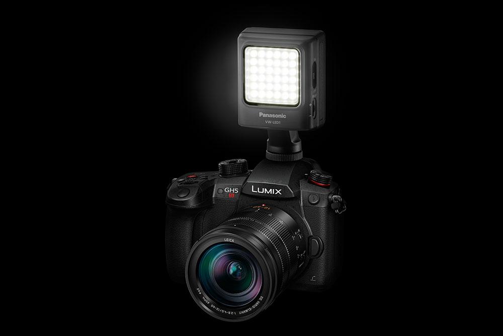 Panasonic LUMIX GH5S LED světlo