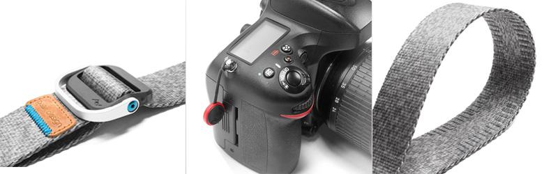 Prémiové popruhy k fotoaparátům