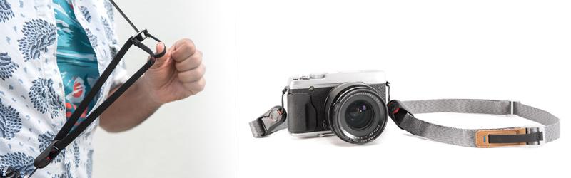 Popruh pro CSC nebo kompaktní fotoaparát fotoaparát
