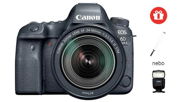 Canon EOS 6D mark II EOS 5D Mark IV akce 2018