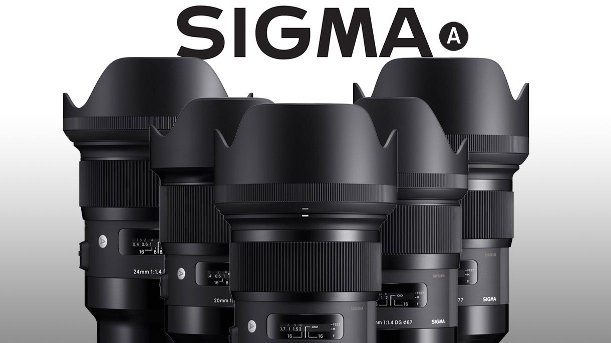 Sigma začala vyrábět objektivy ART pro Sony Alpha bezzrcadlovky