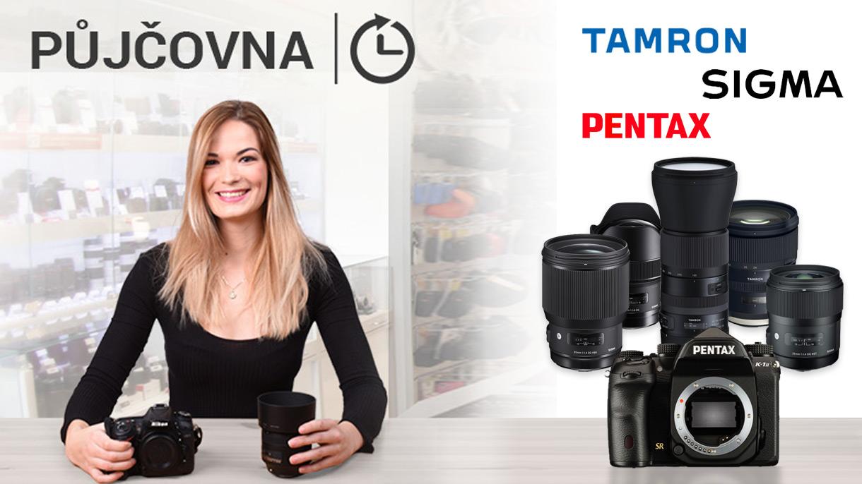 FOTOLAB půjčovna - objektivy, fotoaparáty, kompakty, zrcadlovky, akční kamery