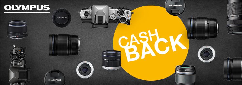 Olympus cashback zpětný bonus na prodejnách a e-shopu FOTOLAB