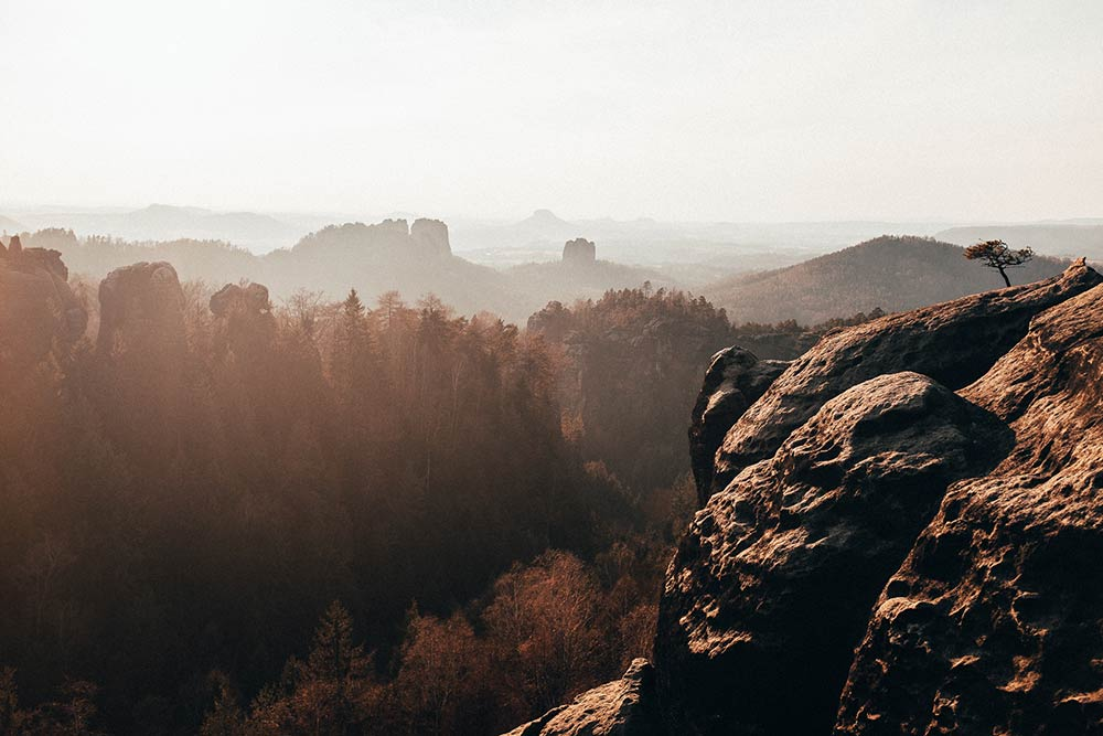 Fotka skal v Českém Švýcarsku