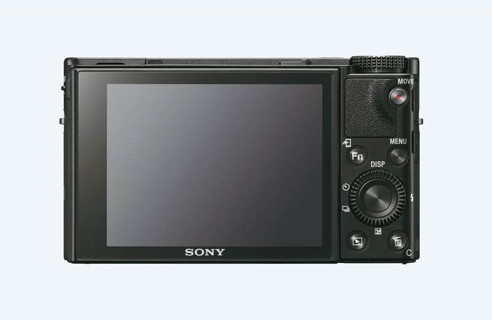 Zadní strana RX100 VI