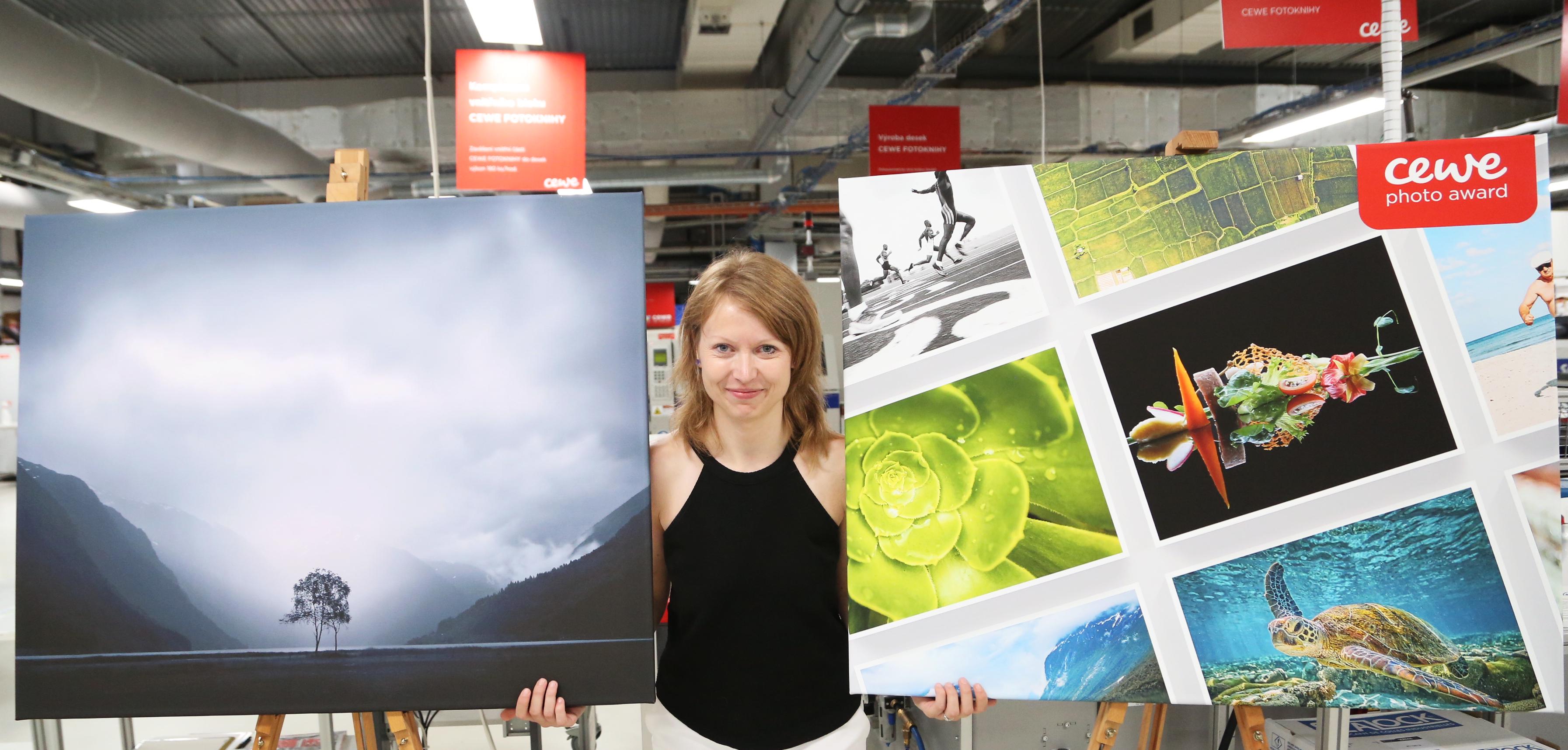 Pavla Baťková - měsíční vítězka CEWE Photo Award 2019