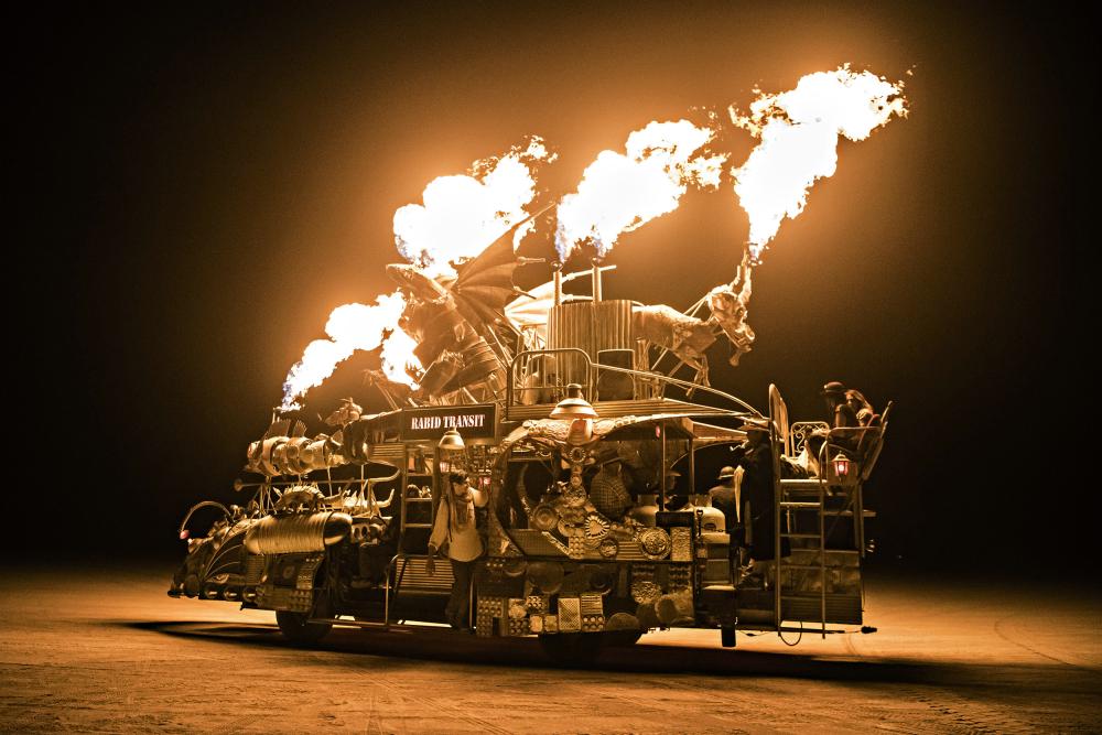 Burning man a FOTOLAB