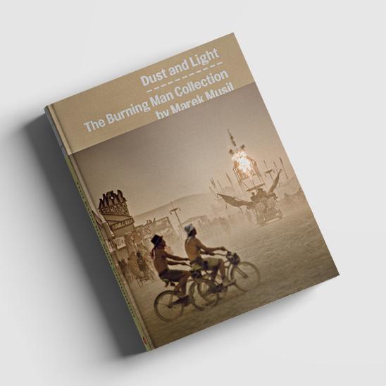 Kniha The Burning man
