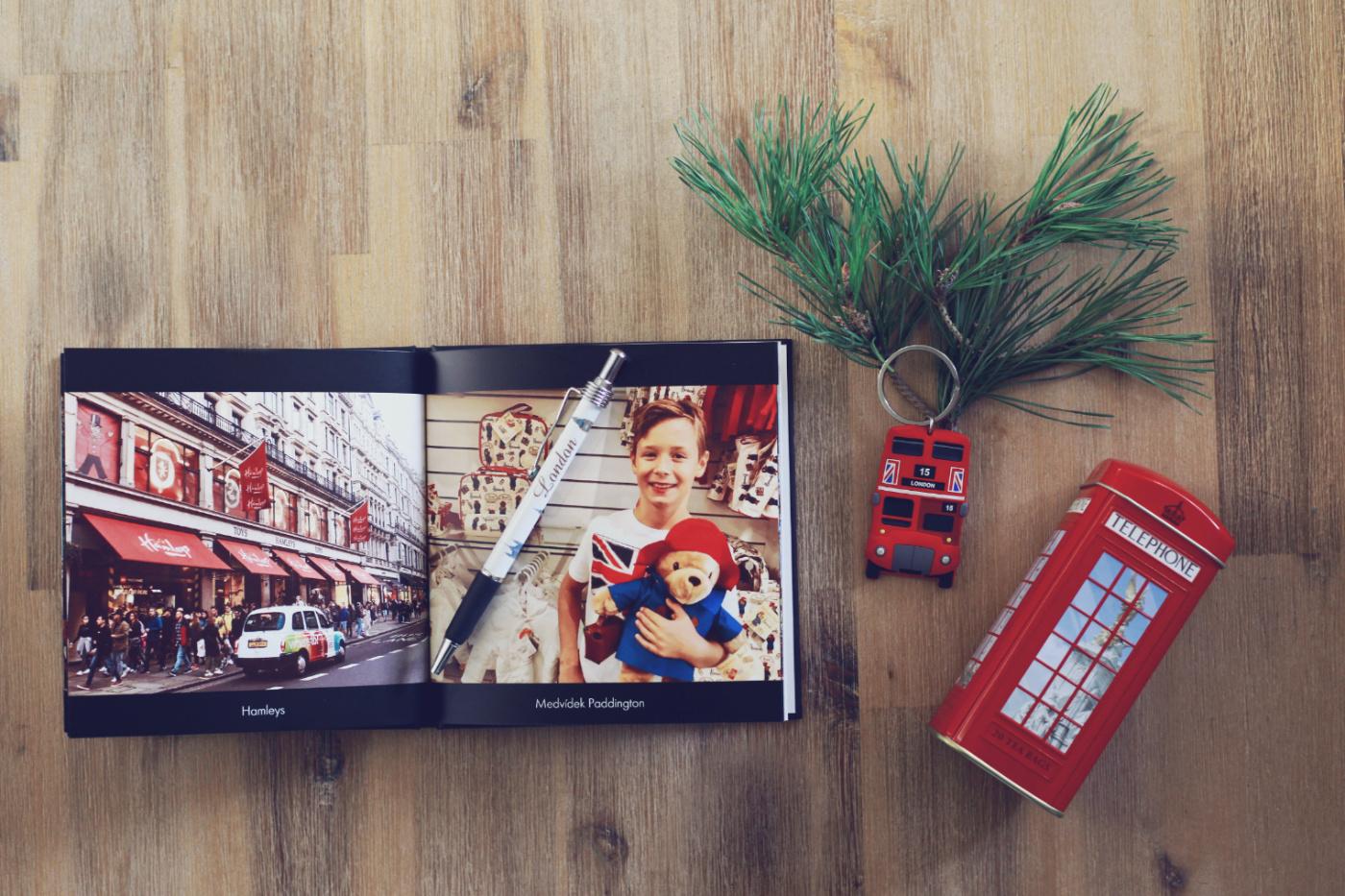 vánoce, fotokniha