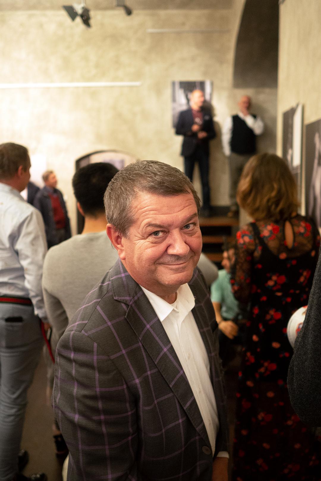 Na výstavě nechyběl ani Ing. Pavel Schreiber - předseda představenstva CEWE FOTOLAB