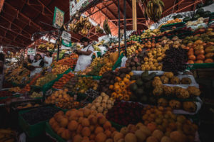 Místní ovocné trhy