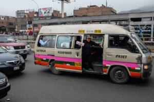 Místní shuttle bus