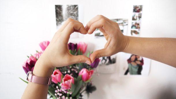 valentýn, láska, fotografie