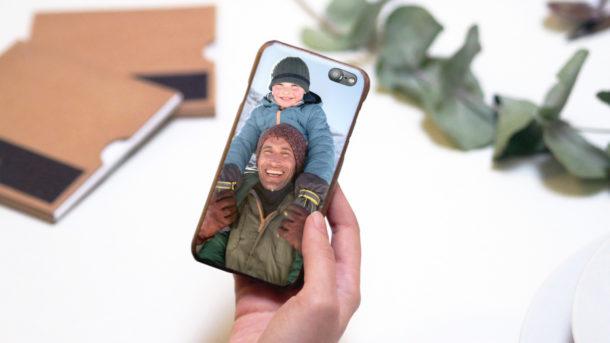 Kryt na telefon s fotkou