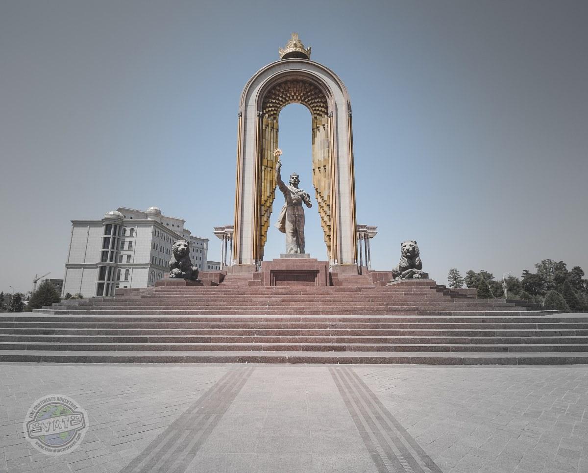 Dušanbe - hlavní město Tádžikistánu.