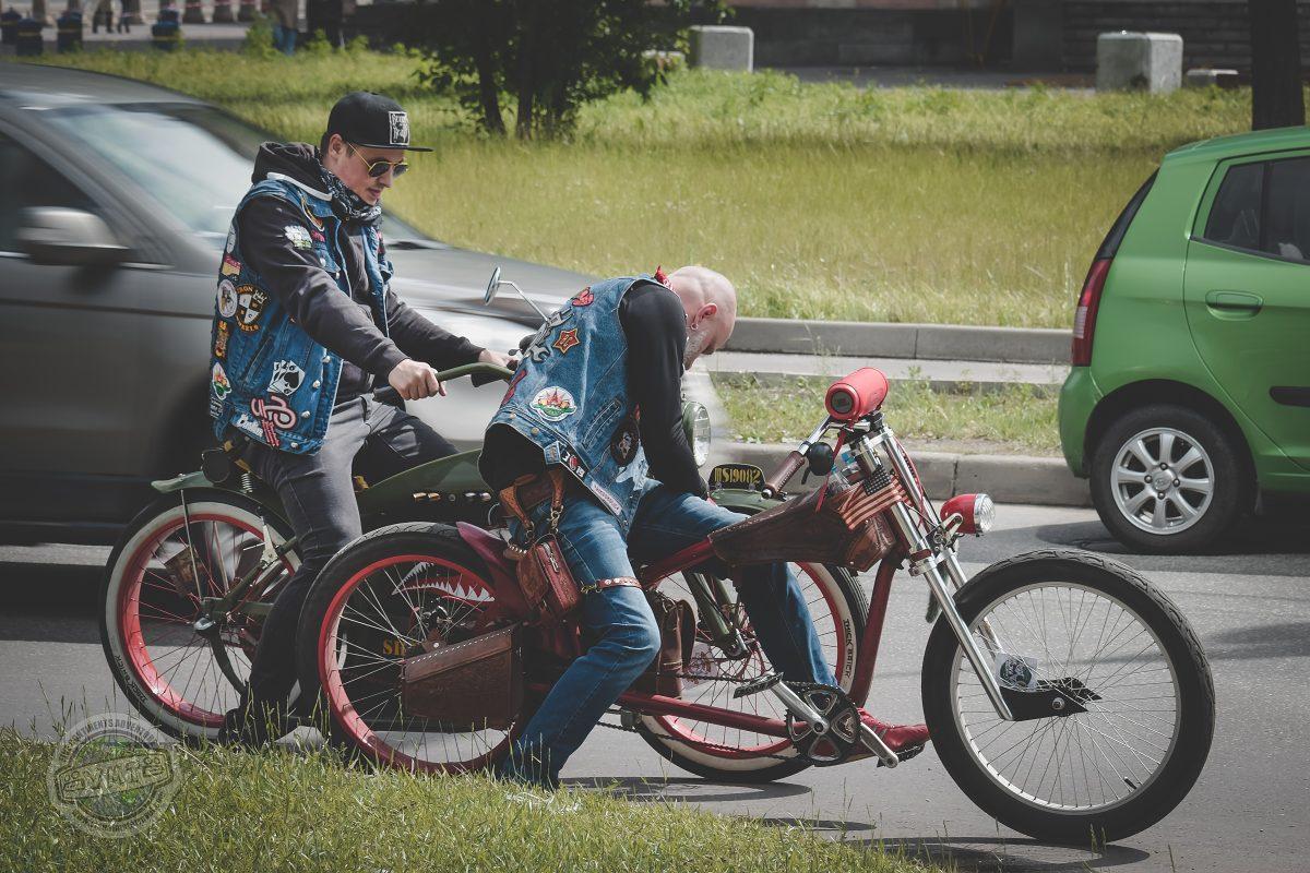 Ekologicky smýšlející motorkáři.