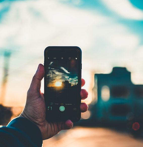 focení mobilem, mobil, Instagram