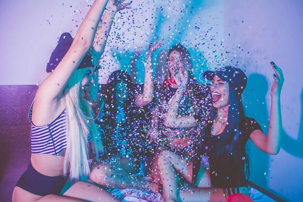 Fotografování oslav a párty