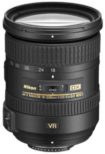 Nikon 18-200mm f/3.5-5.6G ED VR II AF-S DX
