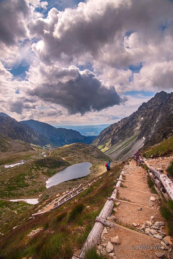 Vysoké Tatry: Cesta na Koprovský štít