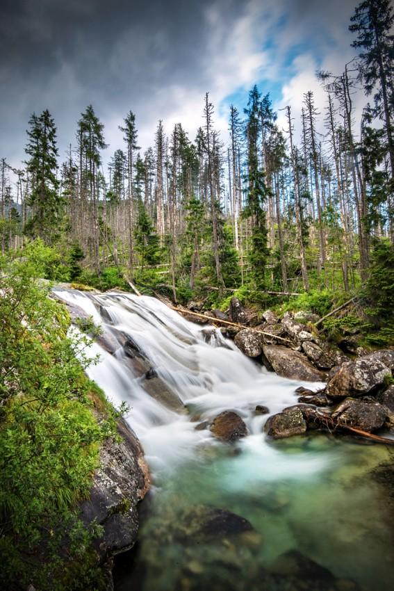 Vysoké Tatry: Vodopády Studeného potoka