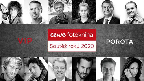 CEWE FOTOKNIHA ROKU- VIP POROTA