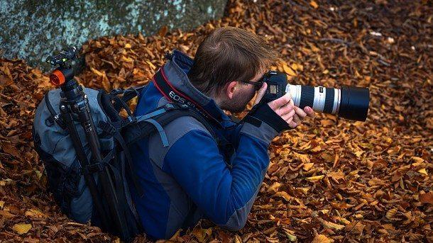 Fotograf v akci