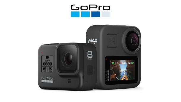 GoPro 8 a GoPro MAX