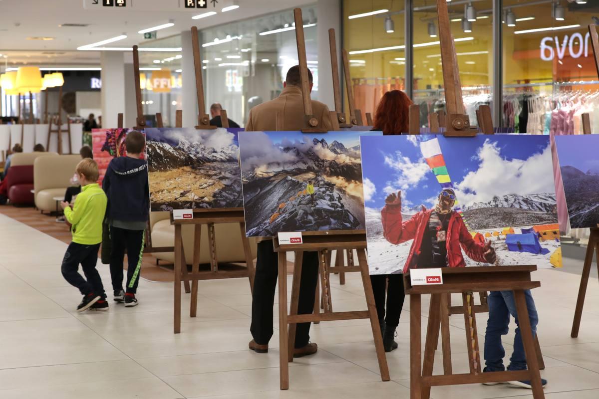 IGY Centrum České Budějovice: Výstava Petr J. Juračka