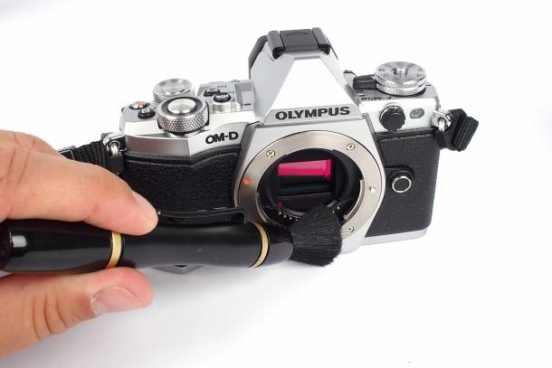 Čištění fotoaparátů a objektivů