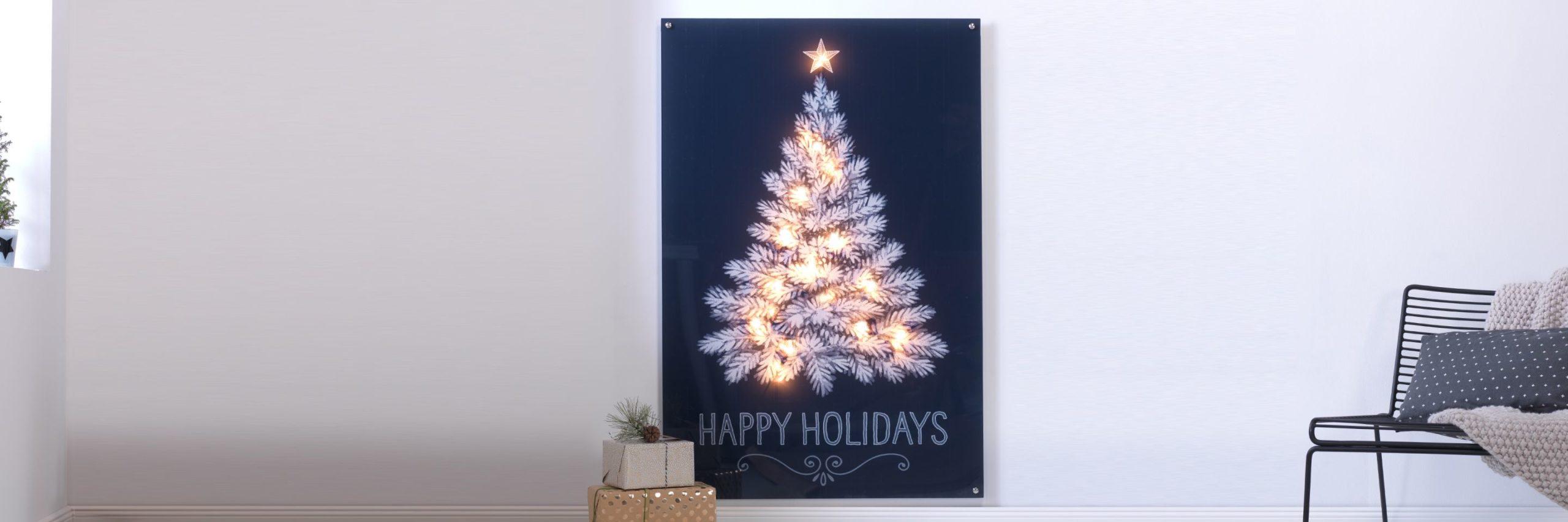 CEWE FOTOOBRAZ se světelným efektem na Vánoce