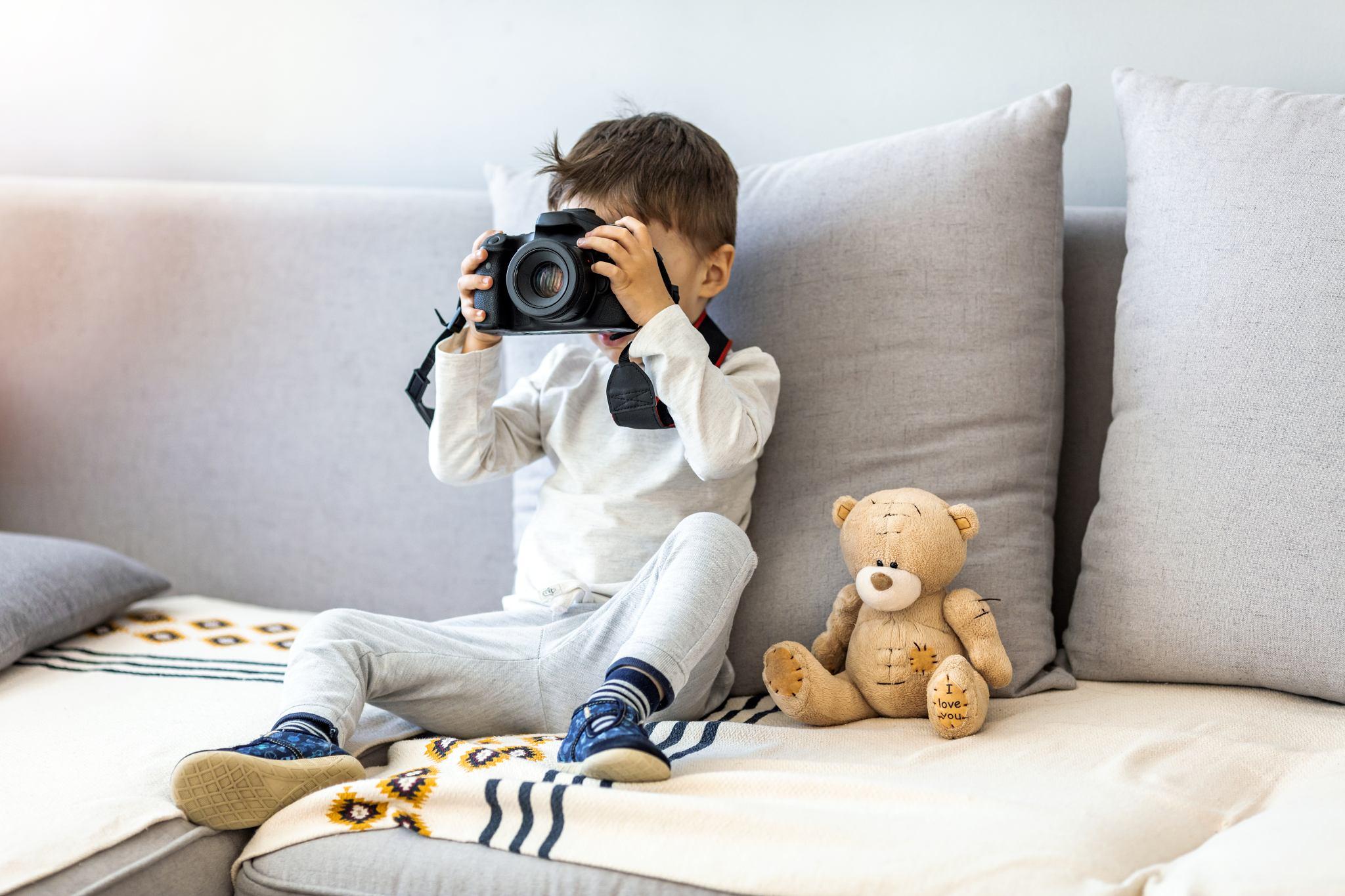 Vybíráme fotoaparát pro děti