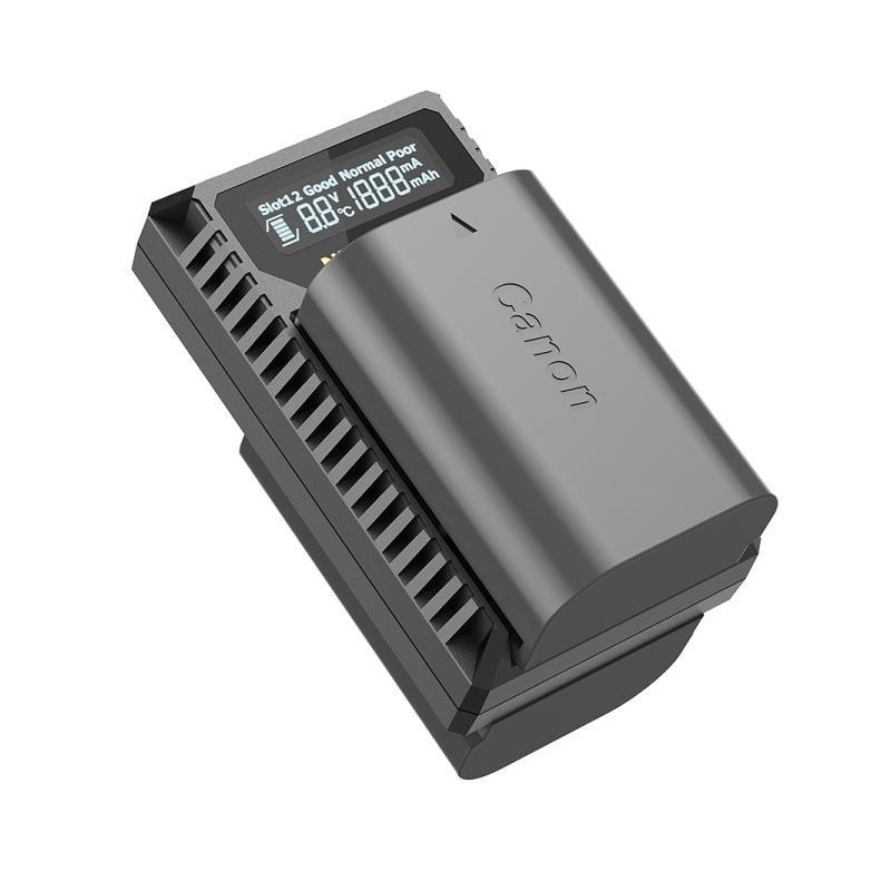Nitecore NC-UCN3 duální nabíječka pro Canon LP-E6/ E6N