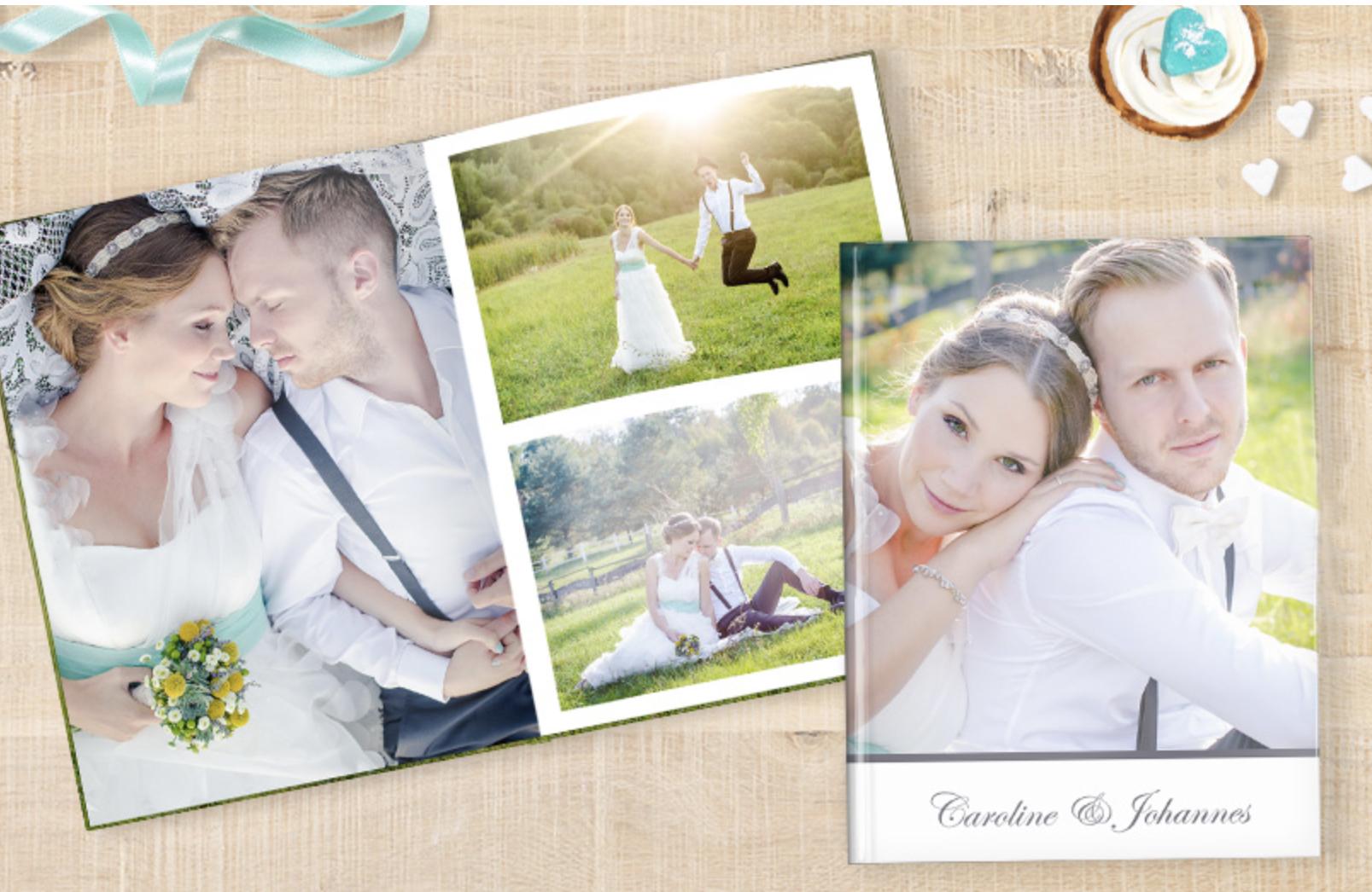 cele fotokniha, svatební
